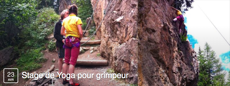 Stage yoga grimpe