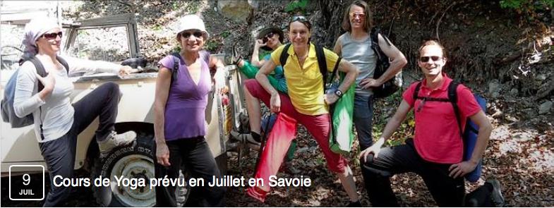 Stage Yoga Savoie